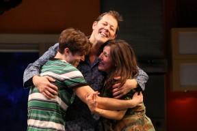 Jake Boyd, John Bolton and Farah Alvin. Photo: Joan Marcus